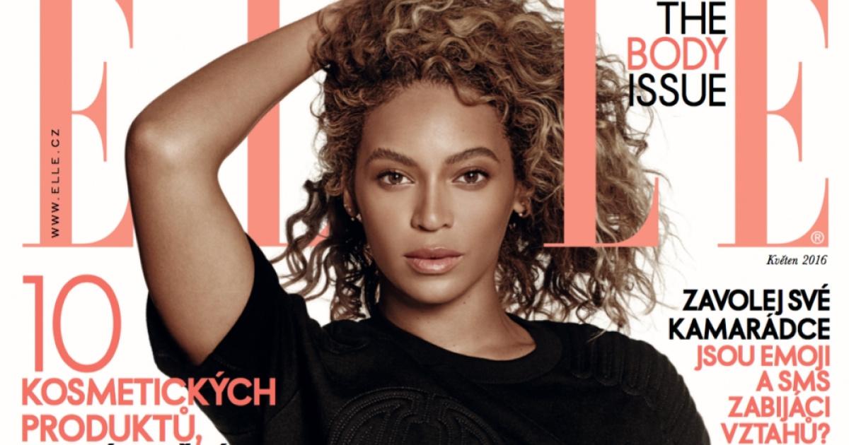 3680692d6c9 Beyoncé   ELLE. Exkluzivně na obálce a mnohem víc