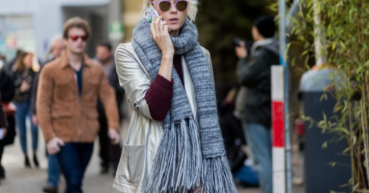 4 cool způsoby jak nosit (maxi) šálu 2916d455a9