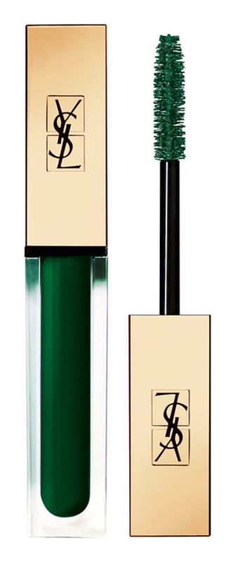 Yves Saint Laurent Vinyl Couture Mascara, odstín 3 I'm The Excitement - Green