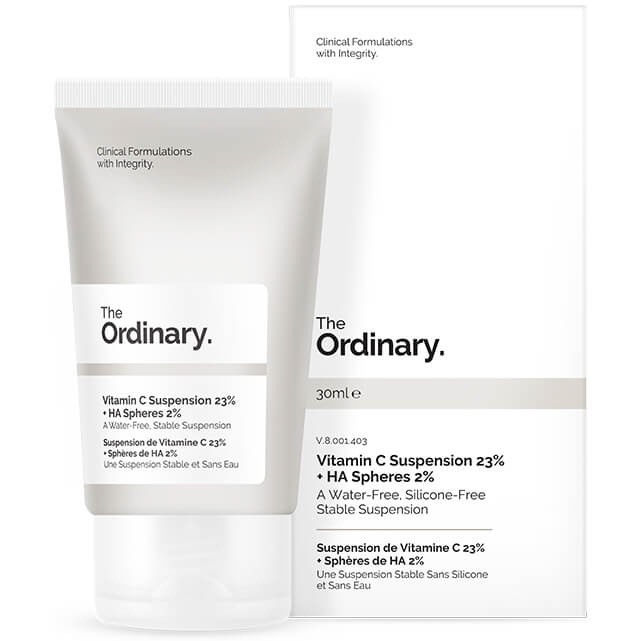 The Ordinary Vitamin C Suspension 23% + HA Spheres, Vitamin C suspension
