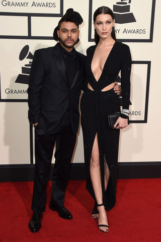 The Weeknd Bella Hadid Glamour 15Feb16 PA b a2e6c