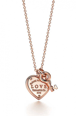return to tiffanylove heart tag key pendant 36339349 959763 ED 4072c