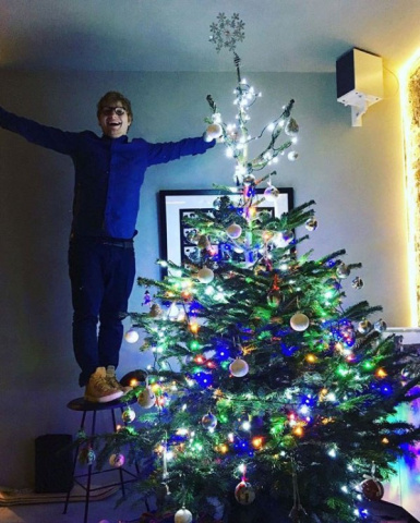 ed sheeran christmas tree 16524