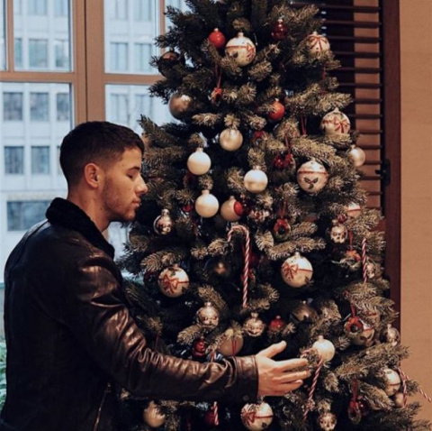nick jonas christmas tree bd9e6