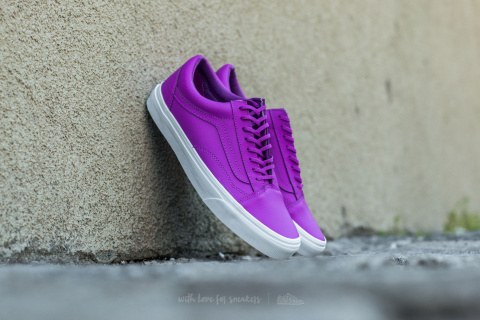 vans old skool neon leather neon purple 1290korun footshop 1156a