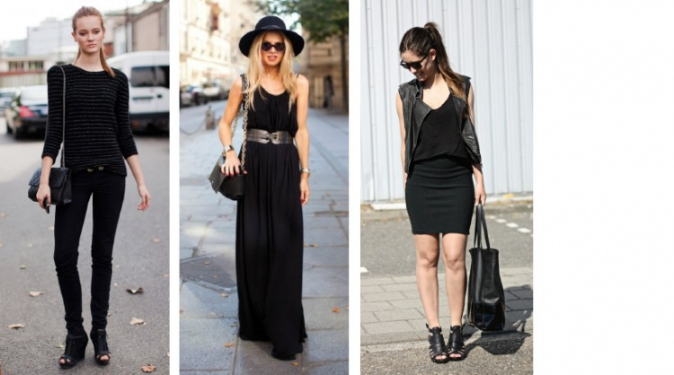 Inspirace: All-in-black